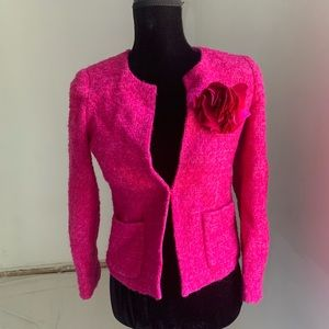 J Crew Boucle wool blazer